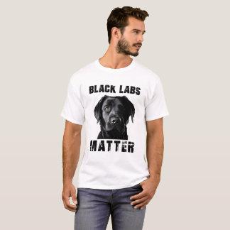 T-shirt Chemise noire de laboratoire