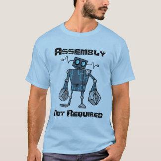 T-shirt Chemise non requise d'Assemblée