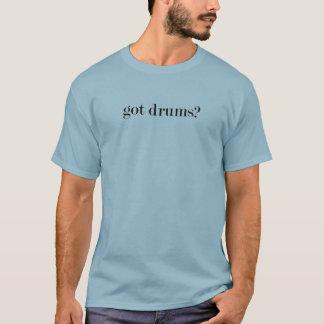 T-shirt chemise obtenue de tambours