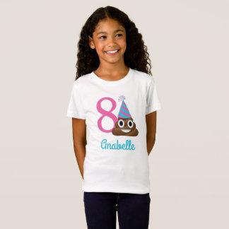 T-Shirt Chemise orientée personnalisée d'anniversaire