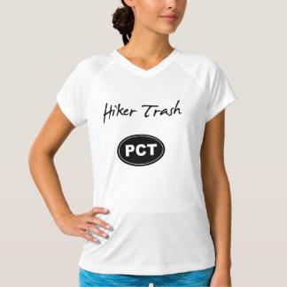 T-shirt Chemise Pacifique de déchets de randonneur de