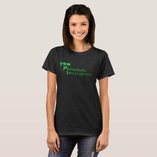 T-shirt Chemise paranormale d'investigateurs des SOLIDES