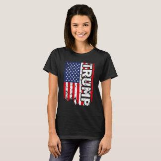T-shirt Chemise patriotique américaine des Etats-Unis de