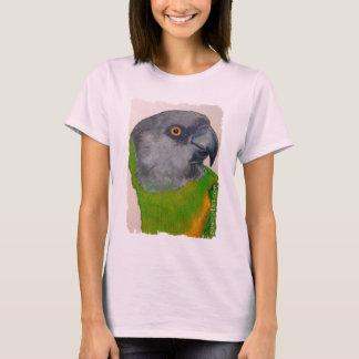 T-shirt Chemise - perroquet du Sénégal