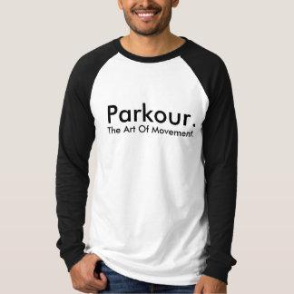 T-shirt Chemise personnalisable d'équipe de Parkour
