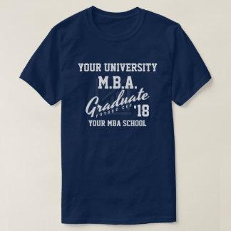 T-shirt Chemise personnalisable d'obtention du diplôme
