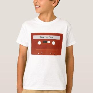T-shirt Chemise personnalisable rouge d'enfants