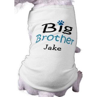 T-shirt Chemise personnalisée d'animal familier de frère