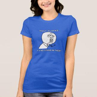 T-shirt Chemise personnelle impressionnante du progrès