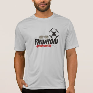 T-shirt Chemise pilote fantôme de Quadcopter