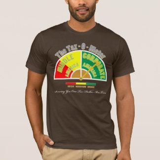 T-shirt Chemise politique | l'impôt - couleur du mètre |