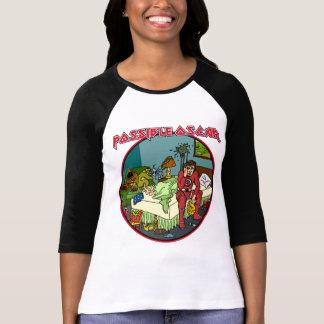 T-shirt Chemise possible de colère d'oscar pour les dames