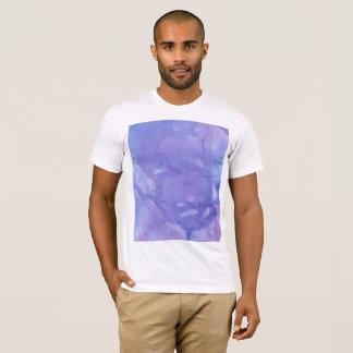 T-shirt Chemise pour aquarelle marbrée par pourpre