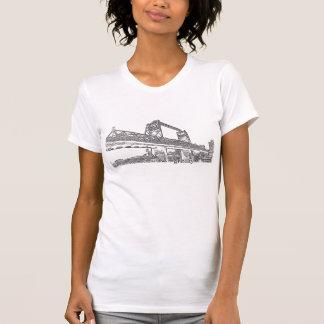 T-shirt Chemise pour les femmes graveleuses