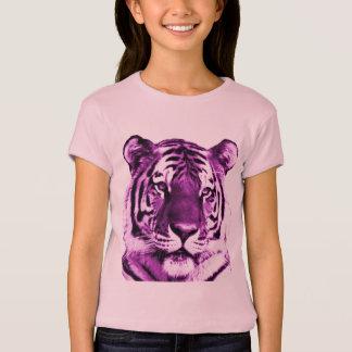 T-shirt Chemise pourpre de tigre