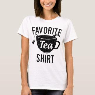 T-shirt Chemise préférée de thé