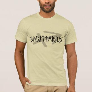 T-shirt Chemise principale des textes de Sagittaire