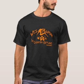T-shirt chemise principale ovale de logo de hors-la-loi de