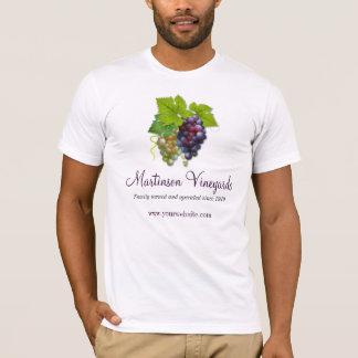 T-shirt Chemise promotionnelle de vigne