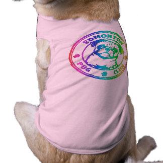 T-shirt Chemise rose de chien