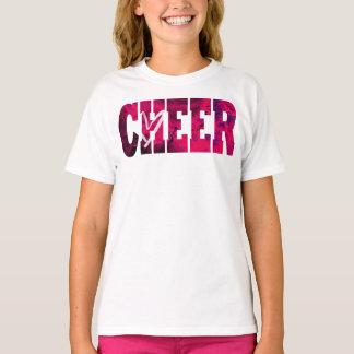 T-shirt Chemise rose de coeur d'acclamation