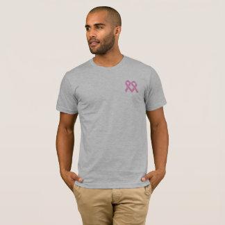 T-shirt Chemise rose de conscience de cancer du sein de 2