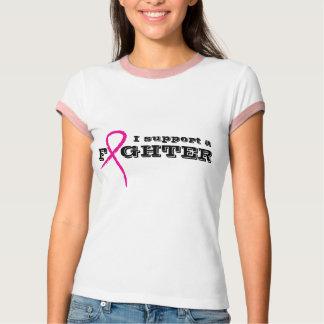 T-shirt Chemise rose de soutien de combattant de ruban