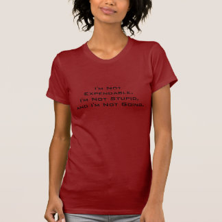 T-shirt Chemise rouge