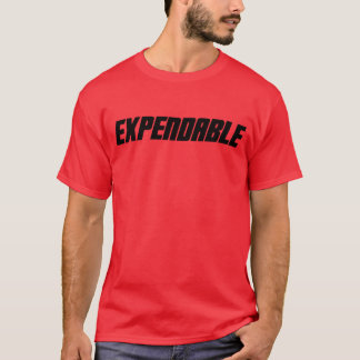 T-shirt Chemise rouge consommable