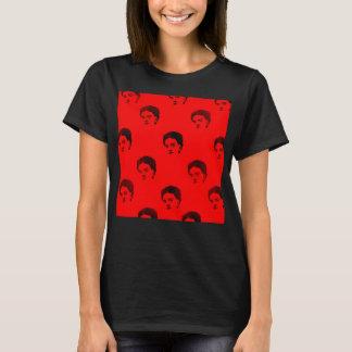 T-shirt chemise rouge de kahlo de frida