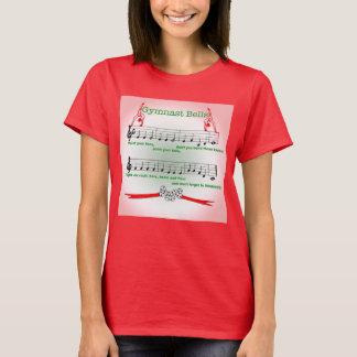T-shirt Chemise rouge d'entraîneur de chanson de Noël de