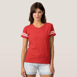 T-shirt Chemise rouge du Jersey