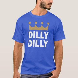 T-shirt Chemise royale profonde de kc Dilly Dilly