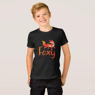 T-shirt Chemise rusée élégante avec la chemise illustrée