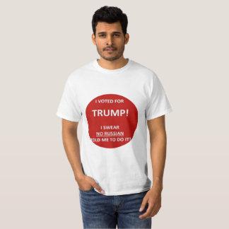 T-shirt Chemise russe de pirate informatique d'atout