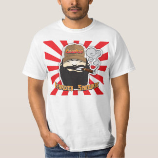 T-shirt Chemise samouraï barbue de Dojo de cigare