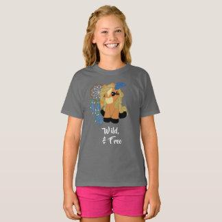 T-shirt Chemise sauvage et libre