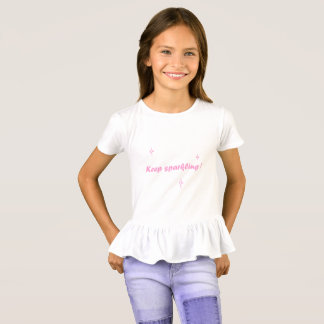 T-shirt Chemise scintillante - Keep miroitant