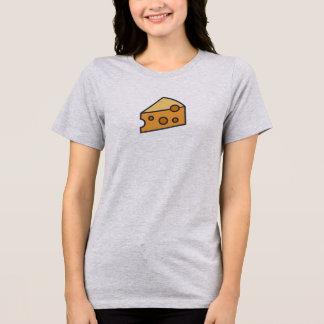 T-shirt Chemise simple d'icône de fromage
