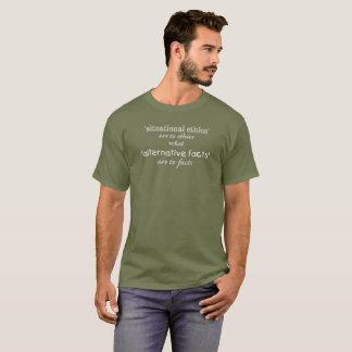 T-shirt chemise situationnelle d'éthique