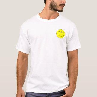T-shirt Chemise souriante étrangère