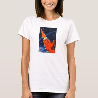 T-shirt Chemise soviétique d'affiche de propagande de