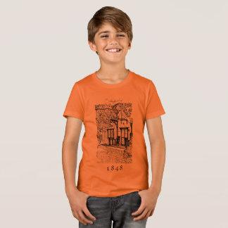 T-shirt Chemise Stonysides B&W de dessin au trait