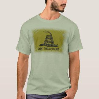 T-shirt Chemise stylisée de drapeau de Gadsden