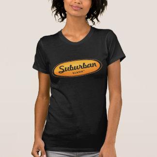T-shirt Chemise suburbaine de mélange