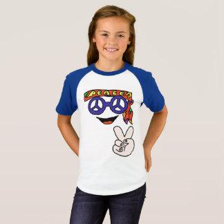 T-shirt Chemise super de paix de hippie