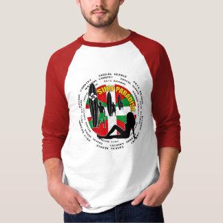 T-shirt Chemise surfante Basque