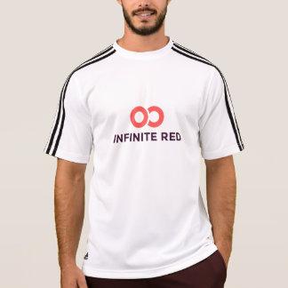 T-shirt Chemise technique de logo rouge infini