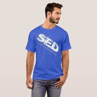 T-shirt Chemise tordue par graphique de SED