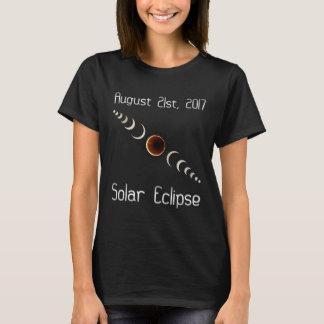 T-shirt Chemise totale d'éclipse solaire le 21 août 2017